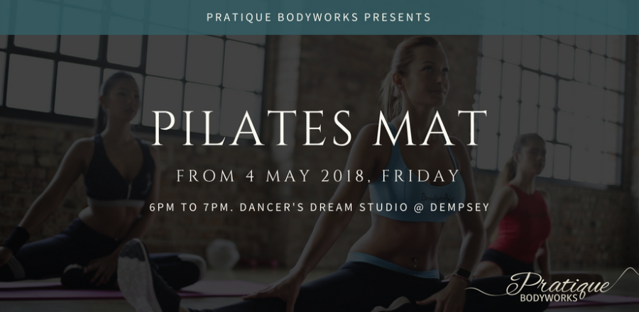 Pilates Mat at Dempsey